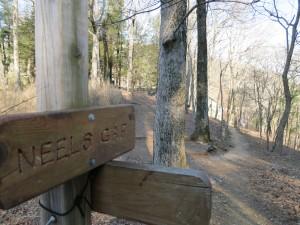 Neels Gap sign